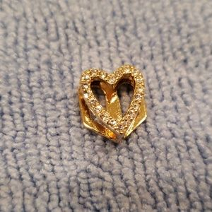 Pave Gold Heart by Keep Collective